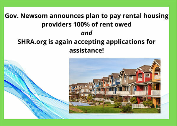 Gov. Newsom announces plan to pay rental housing providers 100% of rent owed